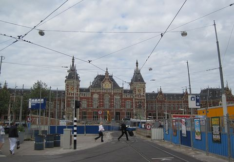 budova nádraží se opravuje