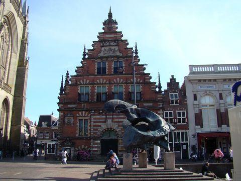 stará radnice v Haarlemu