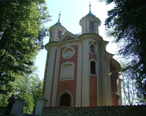 kaple sv. Kateřiny v Lázních svaté Kateřiny