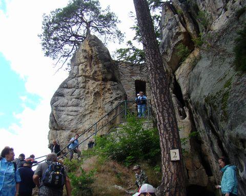 Vranov je nejrozsáhlejší skalní hrad