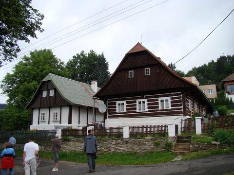 domky si zachovaly podkrkonošský ráz
