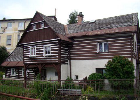 dům pochází ze 17. století