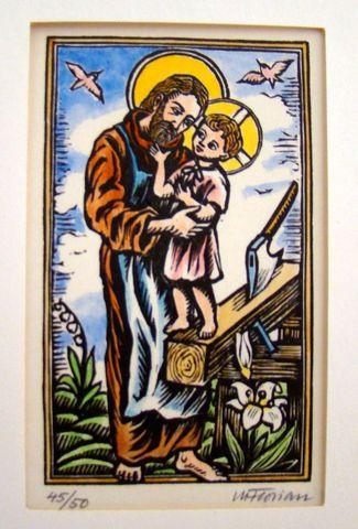 svatý Josef s Ježíškem