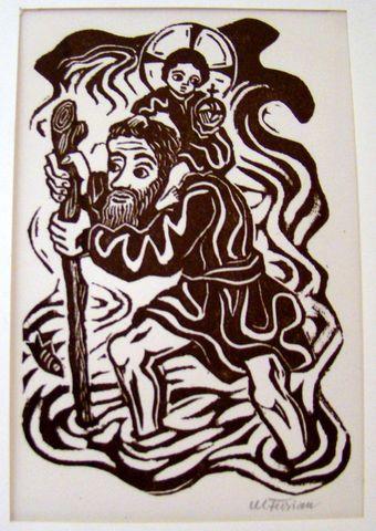 svatý Kryštof, patron turistů
