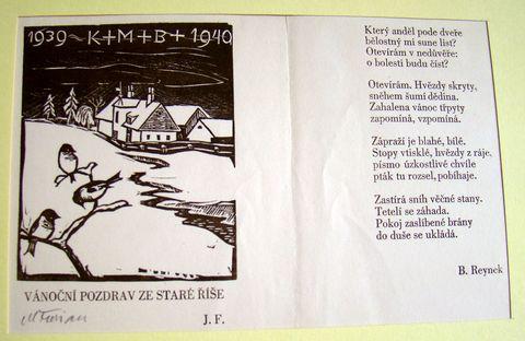 novoročenka 1940