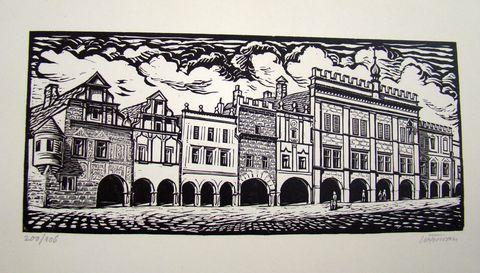 radnice na náměstí Zachariáše z Hradce