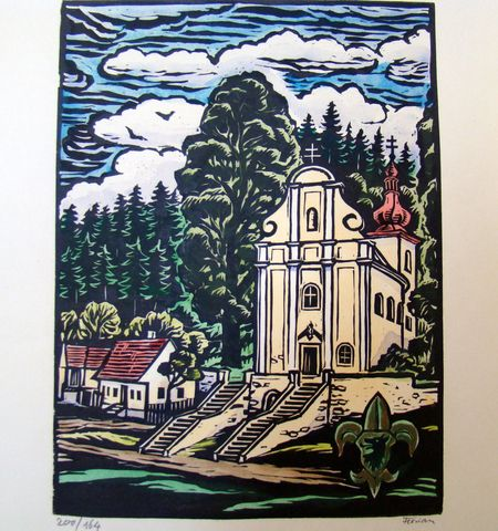 kaple Svatého Kříže u Nové Říše