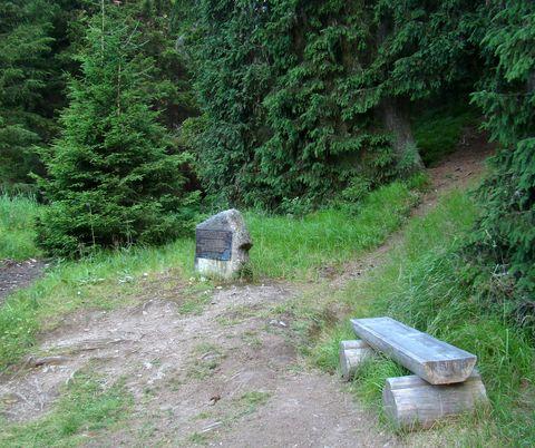 památník převaděčům u Františkova