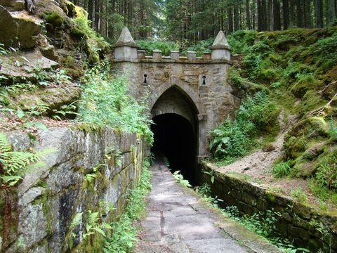 Horní portál Schwarzenberského kanálu