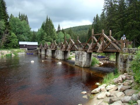 hradlový most zvaný rechle