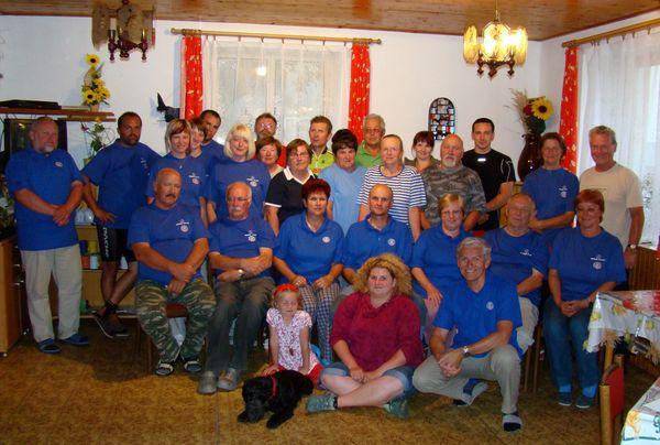 účastníci pobytu na Borových Ladech