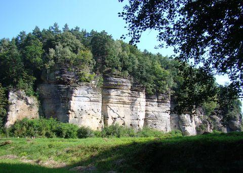 údolí Plakánek