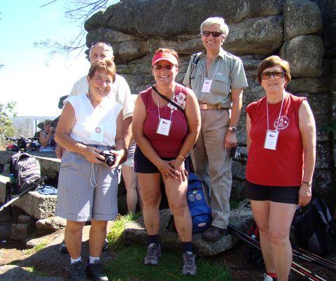 paní Kuchtová s jihlavskými turisty