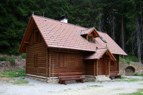 lovecká chata Zámeček pod Boubínem