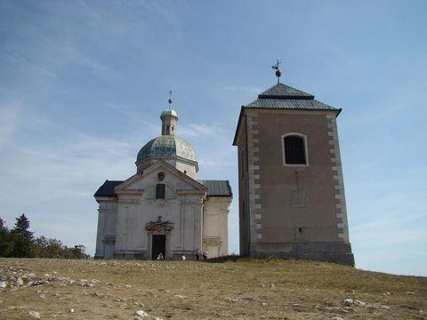 kaple sv. Šebestiána a zvonice