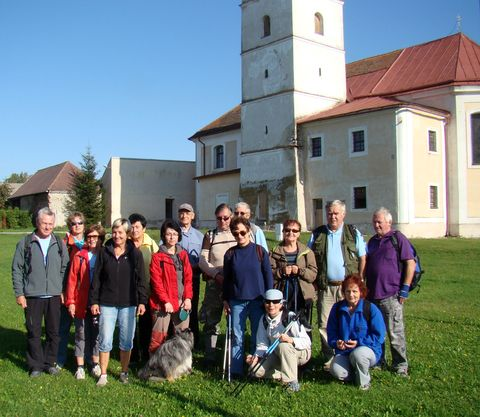 účastníci vycházky 24.9.2011