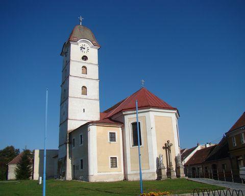 kostel v Želetavě