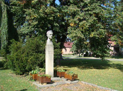 busta Bedřicha Václavka