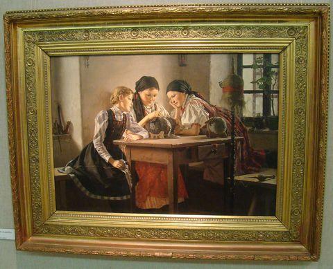 Malé krajkářky, 1892