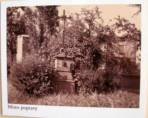 místo v Plzni, kde byl Kozina popraven