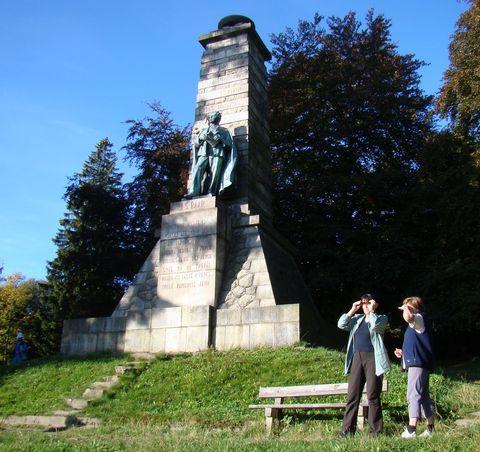 památník J. Š. Baara na Výhledech