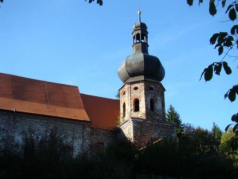 objekt kláštera je velmi rozlehlý
