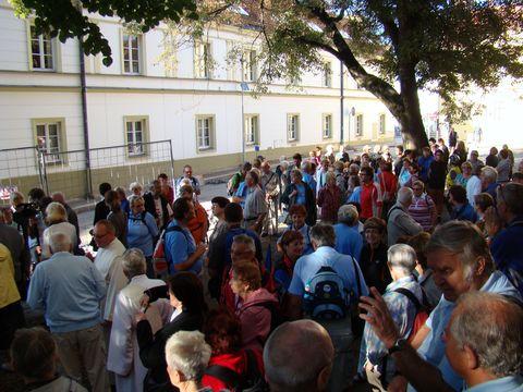 na Rubešově náměstí v Havlíčkově Brodě se shromáždily stovky lidí