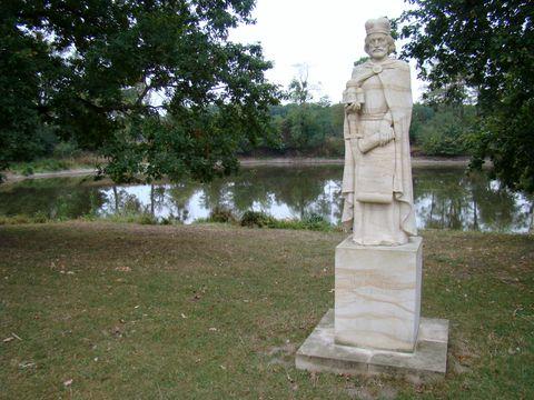 svatý Rostislav u zámečku Pohansko