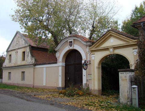 barokní Dřevčice