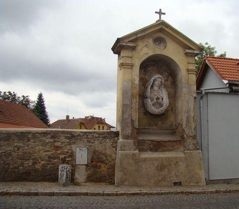 kaple Vyšehradská v Brandýse