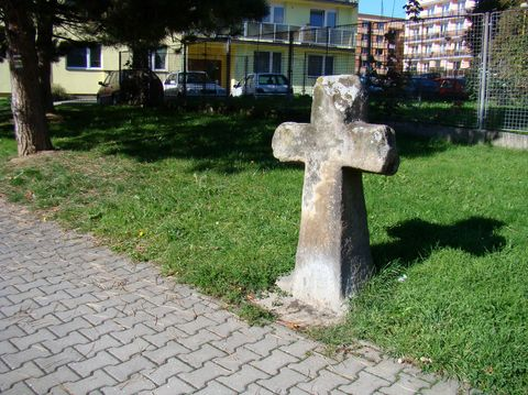 kamenný kříž ve Světlé nad Sázavou