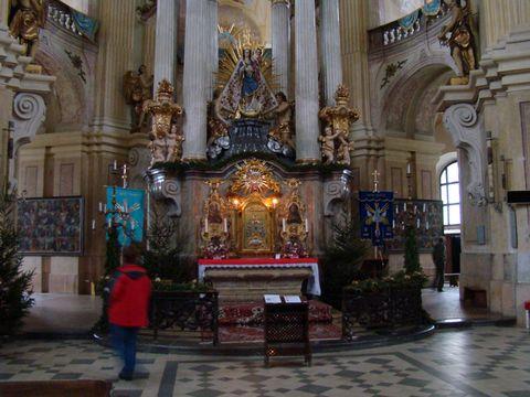 Santiniho chrám Jména Panny Marie ve Křtinách