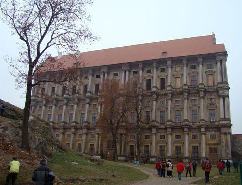 zámek v Plumlově