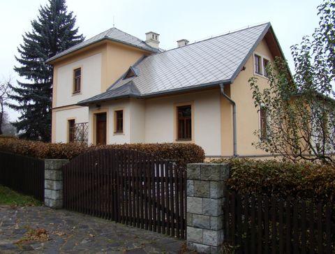 dům, kde bydlel Leoš Janáček