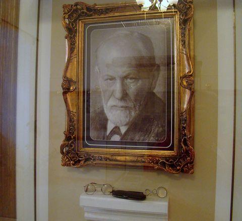 v pamětní síni Sigmunda Freuda