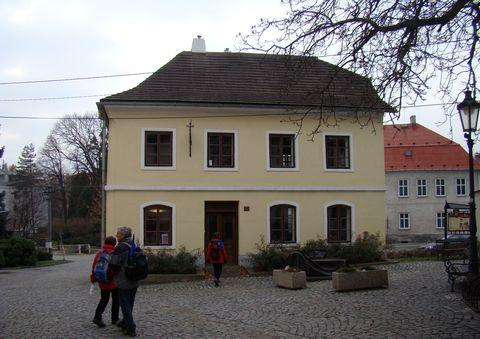 rodný dům S. Freuda