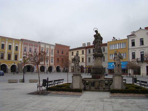 náměstí v Příboře