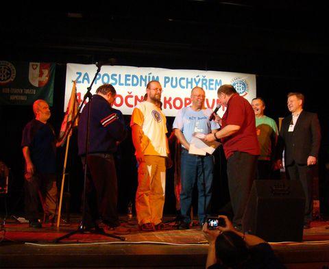 Pepa Čigelský z KČT Baník Karviná byl vyznamenán