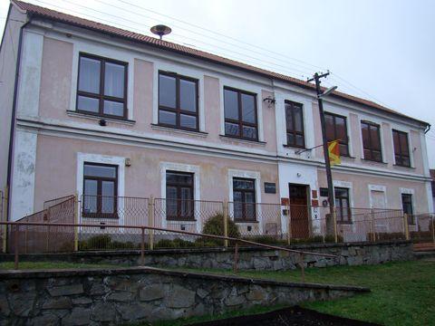 stará škola v Martínkově