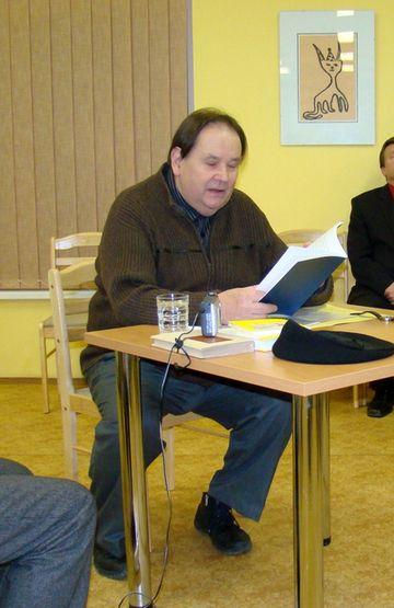 Jiří Kuběna čte svoje básně