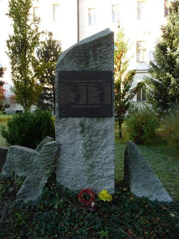 památník obětem komunismu v Jihlavě