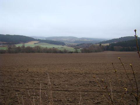Vysočina na konci prosince 2011