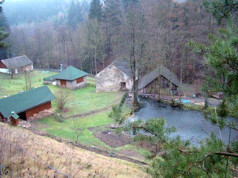 z osady Doubkov se zachoval jen mlýn na Brtničce