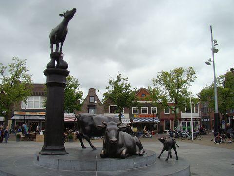 náměstí v Purmerendu - Kravský trh 3