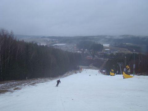 obrázek sjezdovky na Nový rok 2012
