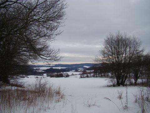 výhled z okraje přírodního parku Čeřínek