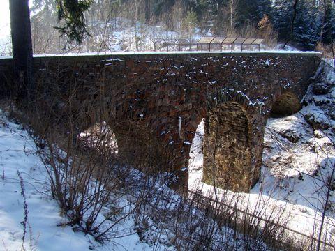 železniční most u Rounku
