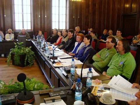 delegáti z odborů