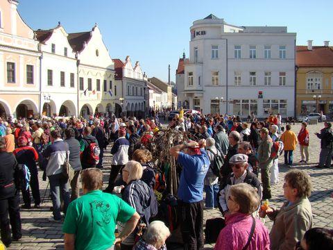v Pelhřimově se sešli turisté z celé Vysočiny