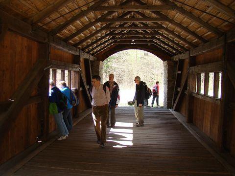 most přes Nedvědičku byl zrekonstruován